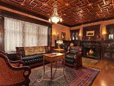 Denver Victorian mansion interior