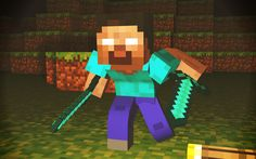 Minecraft Herobrine wallpaper free