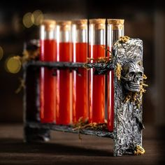 e13cb1e8b0c78 Mad Scientist Shot Glass Vials are a true favorite for the adults trick or  treating and the best part of your next Halloween party!