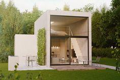 """""""Givent""""Stockholm Interior design, Exterior render, Scandinavian design, 3D visualisation, render, archviz, 3Ds Max, modern design, styling"""