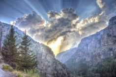 Clouds by Victor Mitri, via Flickr...the Qadisha Valley, a beautiful area