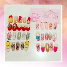 Make your CNY more fashionable this year ! Choose which among these CNY nail arts that fits to your nails! :)  For more information or making appointments, call us at+65 6635 2825 / +65 9387 3231. Visit our website at http://www.pretticarebeauty.com/  for more details. Like us on Instagram at https://www.instagram.com/pretticarebeauty/ #pretticarebeauty #beautysg #pretticare #sg #singapore