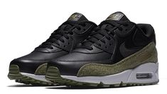 free shipping a7ced 2af7f Nike Air Max 90 HAL Black Olive New Nike Air, Nike Air Max, Footwear