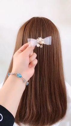 hairstyles for long hair videos - Feltűzött frizura - Easy Hairstyles For Long Hair, Ponytail Hairstyles, Braided Hairstyles, Amazing Hairstyles, Hairstyles Videos, School Hairstyles, Easy Hairstyles Tutorials, Simple Hairstyles For School, Style Hairstyle