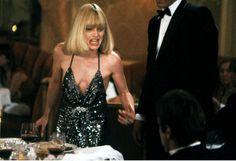 Halston - Robe de Soirée - Noir et Sequins - Michelle Pfeiffer dans 'Scarface' - 1983
