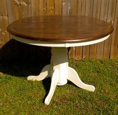 love two toned furniture Maybe I should so this to my table?