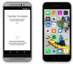 Migrar de Android a iOS ahora será más fácil.  #AyudaiPhoneMx #iOS9 #Apple