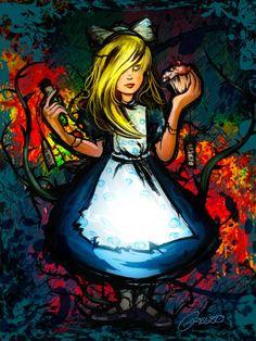 Alice (amo!) por Gregbo Watson