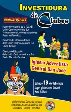 investidura Central San José-Aventureros