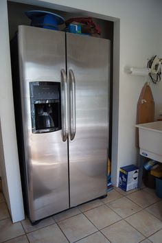 How do i hook up a water line to my refrigerator