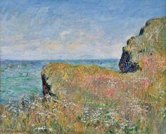 Bords de la falaise à Pourville (C Monet - W 757),1882.