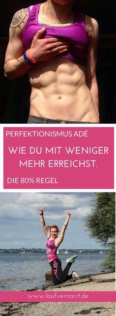 PERFEKTIONISMUS ADÉ - WIE DU MIT WENIGER MEHR ERREICHST Wie du dich vom Perfektionismus verabschiedest und mehr aus deinem Training, deiner Fitness und Ernährung herausholst. Mit weniger mehr erreichen!