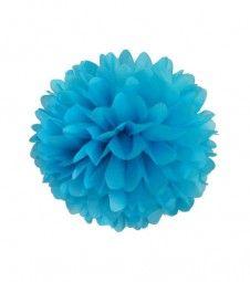 Pom Pom - 30 cm - türkisblau reduziert!!!!