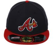 New Era Authentic Collection Atlanta Braves On-Field Fitted Alternate Hat