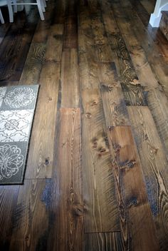 Browse our high quality Douglas Fir Flooring here at Sustainable Lumber Co. We have wire brushed, circular sawn, and hand scraped authentic wood flooring. Engineered Hardwood Flooring, Plank Flooring, Hardwood Floors, Flooring Ideas, Laminate Flooring, Dark Hardwood, Kitchen Flooring, Rustic Wood Floors, Barn Wood