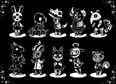 """""""This morning I made a few lil funky villager sprites bc I'm just. Really excited for ACNH to come out. Good Character Traits, Game Character, Pixel Life, Pixel Animation, Drawing Reference Poses, Magical Creatures, Art Studies, Character Design Inspiration, Game Design"""