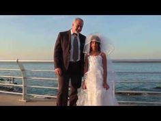 Actors fake a child bride and groom to draw attention to a world wide issue