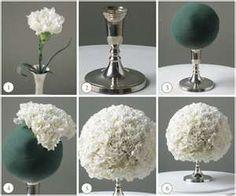 Wedding Center Pieces - perfect winter wonderland wedding theme centerpiece