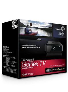 GoFlex – TV (HD Media Player) [Confezione rovinata] 63.90€