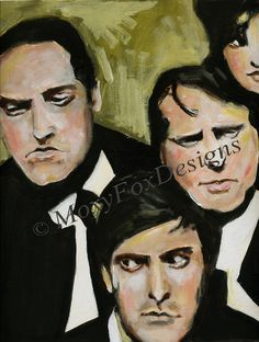 """This painting is called """"Smoldering Politicians"""".     http://www.zibbet.com/MoxyFoxDesigns/artwork?artworkId=676722"""