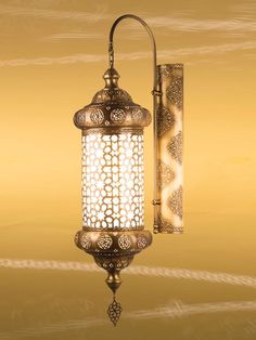 Moroccan Lantern, Wall Lamp, Sconce, Wall Light, Brass Lanterns, Arabian Nights Decoration Ideas by anatolianlighting on Etsy https://www.etsy.com/listing/216063380/moroccan-lantern-wall-lamp-sconce-wall