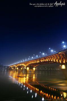 The Seongsu Bridge is a bridge over the Han River in Seoul, South Korea.