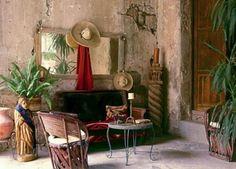 colonial style casonas de México.