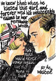 Quote Gatsby - from the website http://almost-kael.com/post/50511690262/gatsby- maybe a tattoo quote.