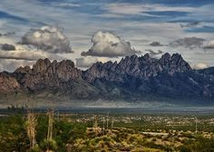 The Organs, of Las Cruces New Mexico.   Photo credit: Bureau of Land Management, NM