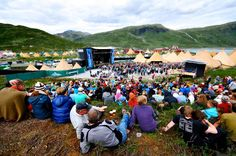 Norway's prized music festival is known as Vinjerock and takes place every July in Jotunheimen. Along with enjoying a number of rock and roll acts at the festival, many participants find time to hike, fish and kayak before and after the performances.