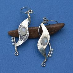 Formed Sterling Silver Fine Silver Bezel Set by jimscheradella