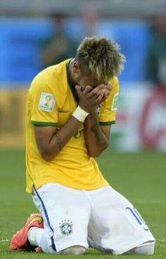 Tears of joy from Neymar Sky Sports Football, Football Icon, World Football, Neymar Jr, World Cup 2014, Fifa World Cup, Cristiano Ronaldo, Fc Barcelona Neymar, Roy Jones Jr