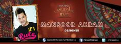 #PBCW2014 day 1 designer #MansoorAkram  For live updates from the show tune in to: http://style360.tv/pbcw2014/live.html