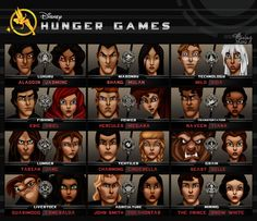 Disney Hunger Games - LOL