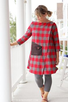 Wrap Dress - a Variation of the Wrap Blouse