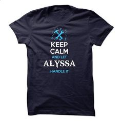 ALYSSA-the-awesome - #university tee #vintage sweater. ORDER NOW => https://www.sunfrog.com/Names/ALYSSA-the-awesome-55213430-Guys.html?68278