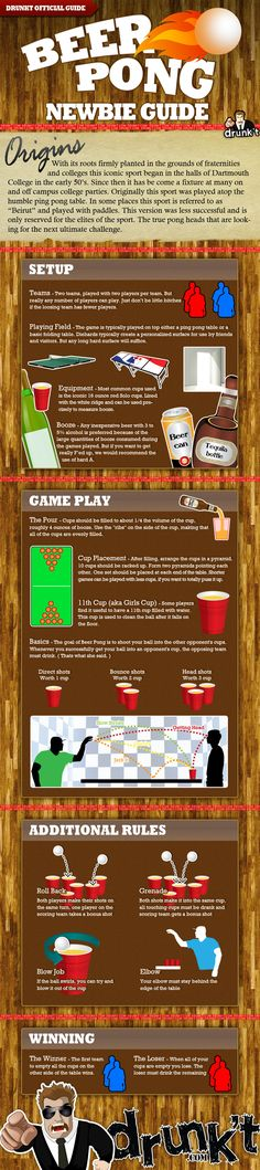drunkt-beer-pong for the inflatable beer pong table