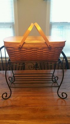 This is one of my very favorite Wrought Iron pieces.  I use it mostly as a side…