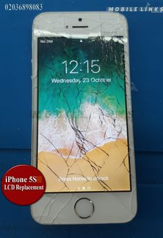 Instant iPhone LCD Replacement in 30 Minutes at Mobile Links with FREE Tempered Glass Protector. No Fix No Fee, Phone - 02036898083 Iphone Repair, Laptop Repair, Mobile Phone Repair, Iphone 5c, Glass Protector, Starter Kit, Phone Cases, Display, Free