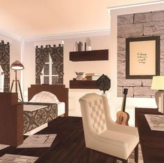 Two Story House Design, Tiny House Layout, House Layouts, Simple House Plans, Family House Plans, Cute Bedroom Ideas, Room Ideas Bedroom, Home Building Design, Building A House
