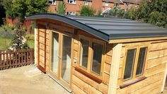 Curved Roof Garden Shed