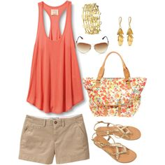 I want this outfit for Summer. Seriously.