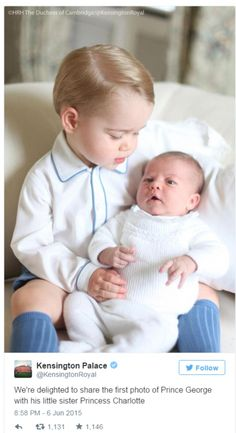 We're ready for our close-ups, Mummy! Utterly adorable– and the very image of their parents: Kate melts our hearts with her sublime portraits   Daily Mail Online