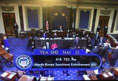Senate Passes N Korea Sanctions & Policy Enhancement Act of 2016 | 코리일보 | CoreeILBO
