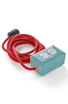 Function meets fashion with this awesome American-made power strip!