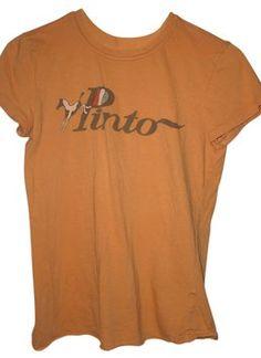 Vintage Ford Pinto T Shirt Peach $10