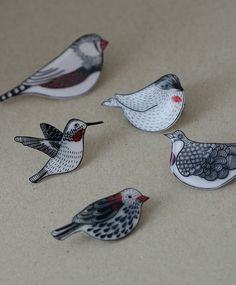 a bird set | by Lila Ruby King More