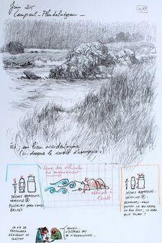 1093 - Une Bretagne par les contours / Lampaul-ploudalmézeau