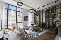 Plus belles maisons de paris : projet de OBAA Architectes vue du salon