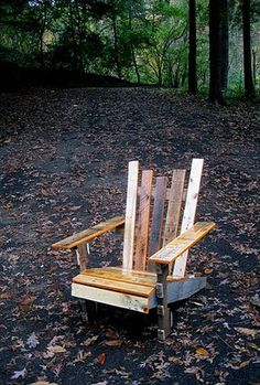 Pallet Adirondack Chair DIY guide